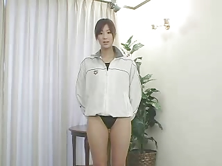 softcore asian swimsuit massage