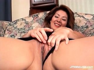 Sexy asian milf is stroked apart from wo horny part3