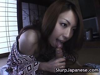 Tomoe Hinatsu is a horny milf who loves