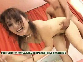 Miina naughty Chinese girl gets a hard fucking