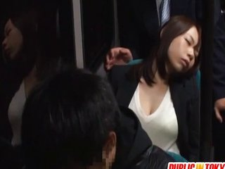 Momo Ogura gets fucked in public