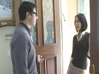 Hot Aisan Teen fuck their way Teacher