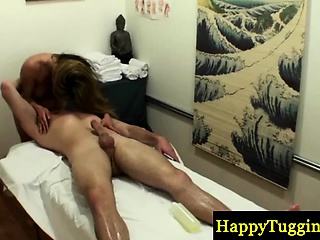 Real asian masseuse sixtynines customer