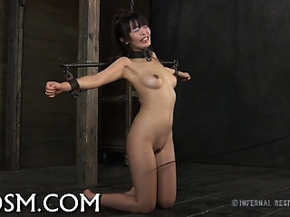 Sexy bagatelle torturing for hawt angel
