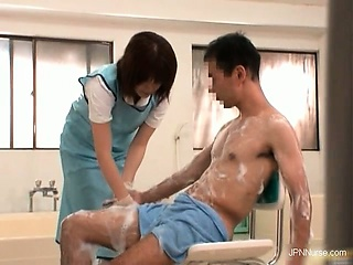 Gorgeous nurses get horny when make ill part5