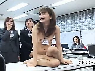 Subtitled CMNF ENF Japanese berth roil paper scissors