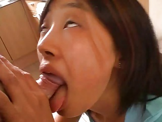 Old Man Assfucks Asian Kim - Full Scene