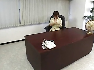Japanese Lady Boss Horny within reach the Office-by PACKMANS
