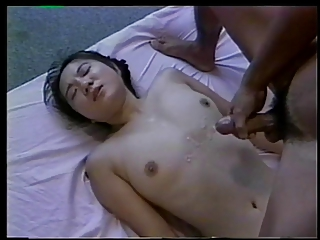 Down in the mouth asian nympho gets the brush queasy teen pussy licked and fucked