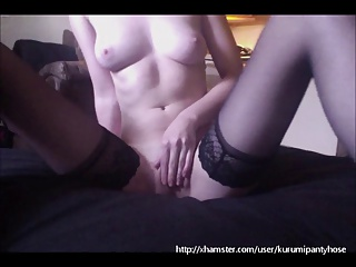 Kurumipantyhose - Masturbation in Nylons!