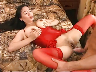 Chinese Jade with Chunky Boobs fucked