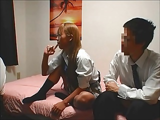 Japanese high school girl hidden cam sex (part 3)