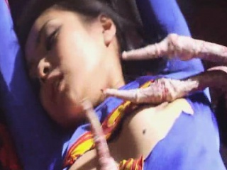 Supergirl Gangbanged by Tentacles!