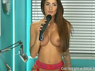 Extremely sexy Preeti Young respecting the meeting 2