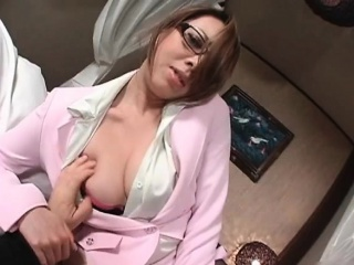Elegant asian milf takes gone his pants part6