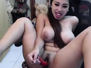 Unstinted Asian Tittes On Webcam