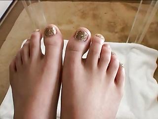 Hot Japanese Foot Fetish