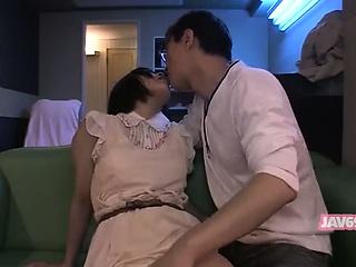 Cute Horny Asian Babe Having Sex