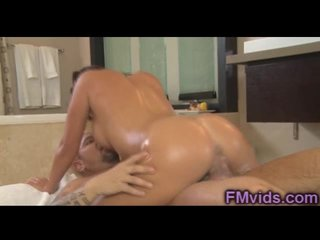 Mia Lelani riding cock check over c pass massage