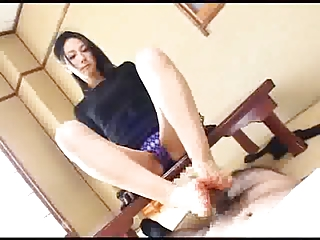 Japanese Fingertips makes him Gush Cum