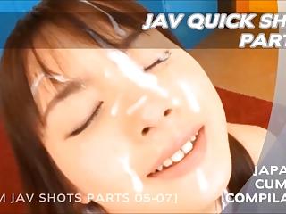 Jav Quick Shots 02 - Japanese Cumshot Compilation