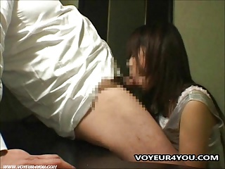 Cabaret Girls Blowjob Voyeur