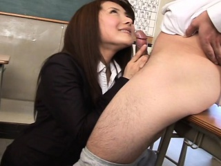 Tenebrous Asian is on hammer away dick sucking it down