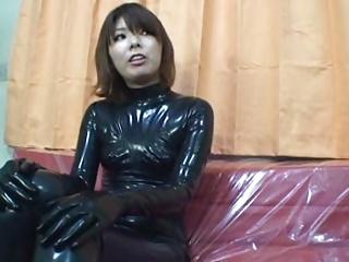 Japanese Latex Catsuit 19