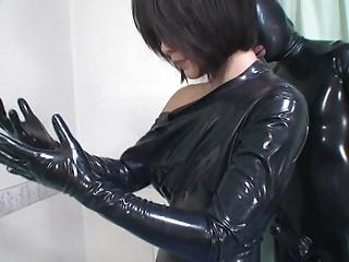 Japanese Latex Catsuit 32