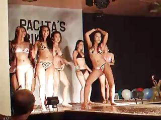 Bikini contest Panagsama, Moalboal, Philippines