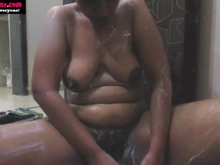 BigTits Indian Spoil Lily In Shower Masturbate