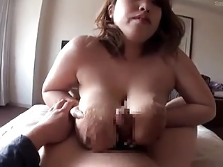 obese boobs japanese blowjob titfuck