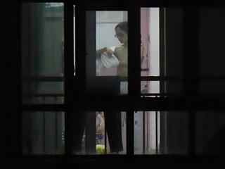 Lorgnette Voyeur: Chinese Neighbor Tits