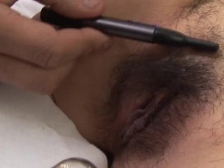 Subtitles Japanese pubic quill shaving respecting HD