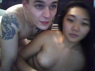 Asian GF With Turns and Her BF on Webcam 5