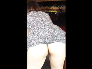 Performing his chinese slutty wife in coffeeshop