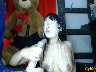 Asian Babe Cum Far-out Showering