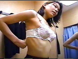 japanese woman upon a dressing range