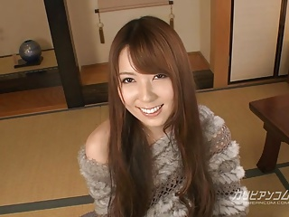 on all sides of man wants wipe the floor with beauty jilted Yui Hatano's milk warm botheration