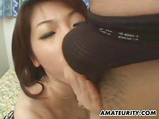 Puristic Asian amateur boyfriend fucks with facial