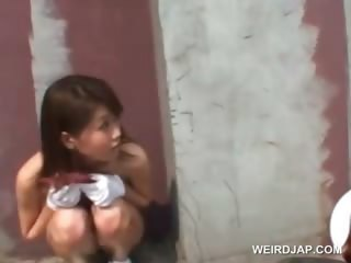 Public nudity chapter with hot asian teen toddler