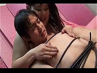 Asian BBW made HJ 2