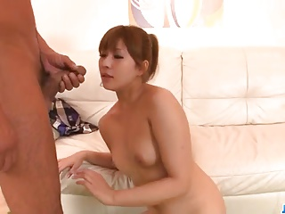 Rinka Aiuchi gets a huge locate to smash their way hairy cunt