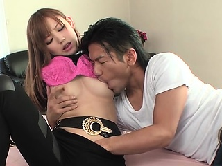 Two beggar and one oriental slut suck scene, deepthroat pretend