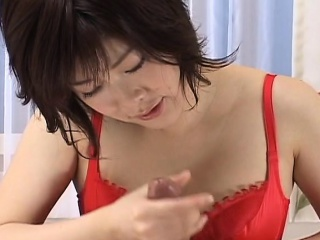 Asian freak loves to rim the ass and jerk the bushwa