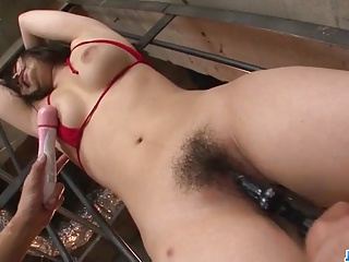 Strong possession porn scenes with insolent Chiharu