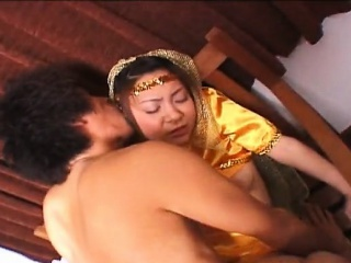 Little precious Asian princess fucked wits her prince