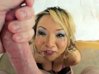 Asian indulge pov gagging