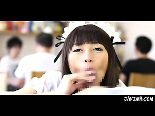 Fun And Cutie Japanese Maid