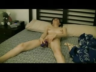 Asian Resulting Ordered To Fuck With Toys